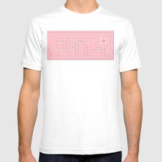 ATL White Mens Fitted Tee SMALL