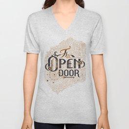 The Open Door Unisex V-Neck