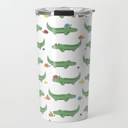 Alligator, Snail and Turtle Party - Children - 57 Montgomery Ave Travel Mug