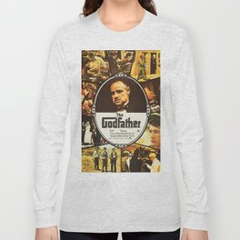 The Godfather, vintage movie poster Long Sleeve T-shirt
