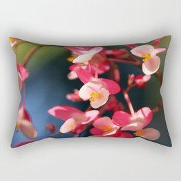 Flower Bokeh Rectangular Pillow