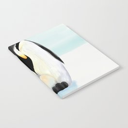 Penguin Dad and his Egg Notebook