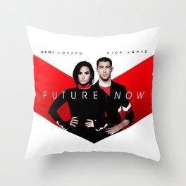 FUTURE | NOW Throw Pillow