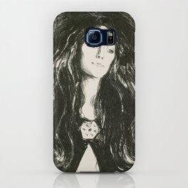Edvard Munch - The Brooch, Eva Mudocci, 1903 iPhone Case