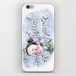 Lewis Watson Hello Hello iPhone Skin