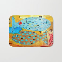 Who's looking? Bath Mat