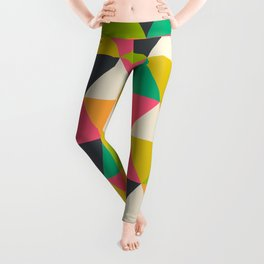 Romantic Geometric Pattern Leggings