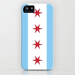 Chicago City Flag iPhone Case