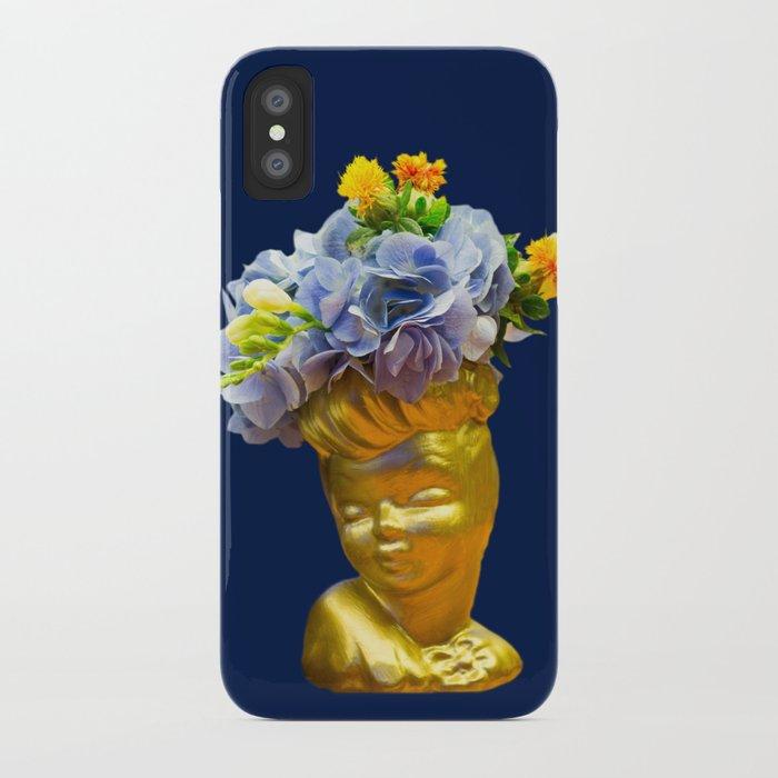 'Golden Girls' Floral Headvase iPhone Case