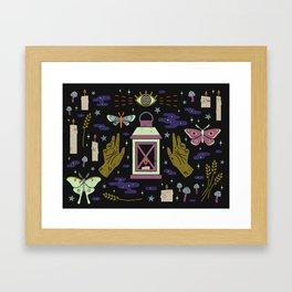Spooky Horoscopes: Virgo Framed Art Print