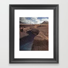 Space River Framed Art Print