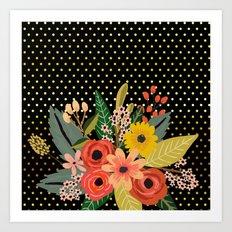 Flowers bouquet #2 Art Print