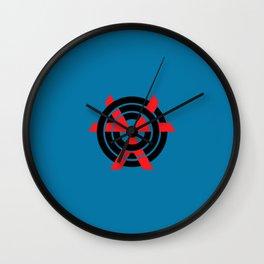 CHVRCHES Blue Wall Clock