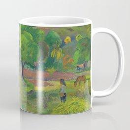 """Paul Gauguin """"Te Fare (La maison)"""" Coffee Mug"""