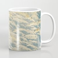 under the sea Mugs featuring Under the Sea by Cassia Beck