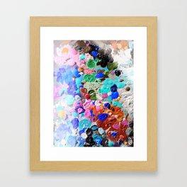 Palette Craze Framed Art Print