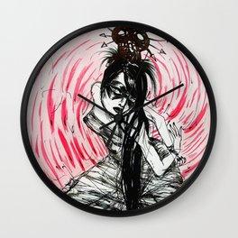 Black Ramona Wall Clock