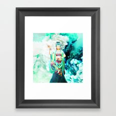 The Goddess of Mercy Framed Art Print