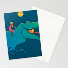 T-rex Stationery Cards