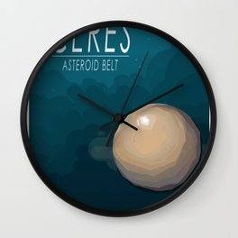 Ceres, Asteroid Belt Wall Clock
