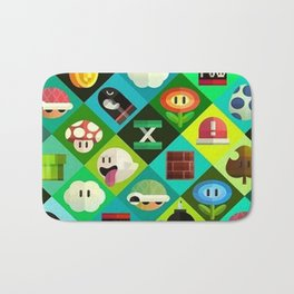 Super Mario Bath Mat