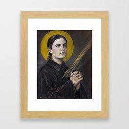 Santa Gemma Galgani Framed Art Print