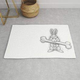 Killer Bunny Rug