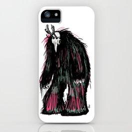 Yeti Beast iPhone Case