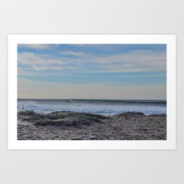 Dolphin in a Wave  Art Print