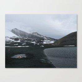 Antarctic hot springs Canvas Print