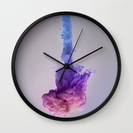 Color Splash III Wall Clock