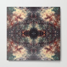 Space Mandala 30 Metal Print