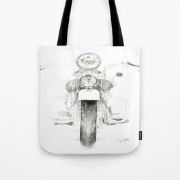 Motorcycle 1 Tote Bag