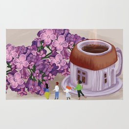 Spring Lilac Rug
