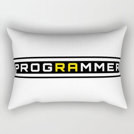 Programmer Rectangular Pillow
