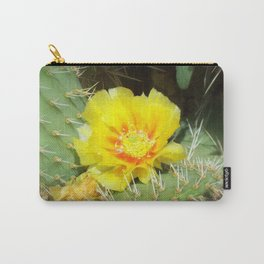 Prickly Yellow Beauty Carry-All Pouch