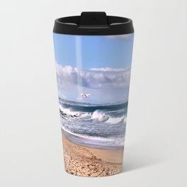 Bashams Beach Travel Mug
