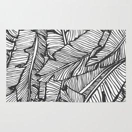 Black & White Jungle #society6 #decor #buyart Rug