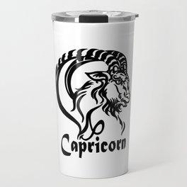 Zodiac for Capricorn Travel Mug