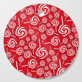 Candy Swirls-Large Cutting Board
