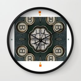 keystrokes 2 Wall Clock