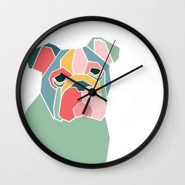Graphic Dog Wall Clock