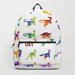 CUTE DINOSAURS PATTERN Backpack