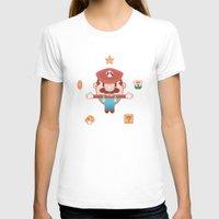 super mario T-shirts featuring Super Mario by Richard Howard