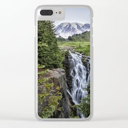 Myrtle Falls Clear iPhone Case