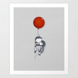 Grab On Art Print