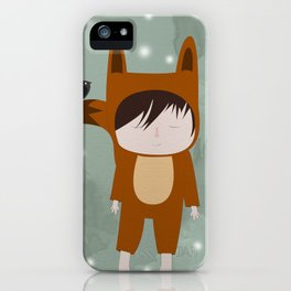 Foxie Boy iPhone Case