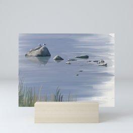 Seagull Siesta Mini Art Print