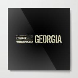 Black Flag: Georgia Metal Print
