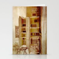 general Stationery Cards featuring General Store by Dorothy Pinder